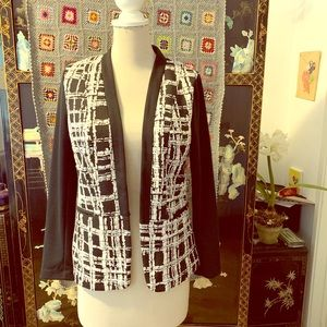 New White and Black Jacket size PM